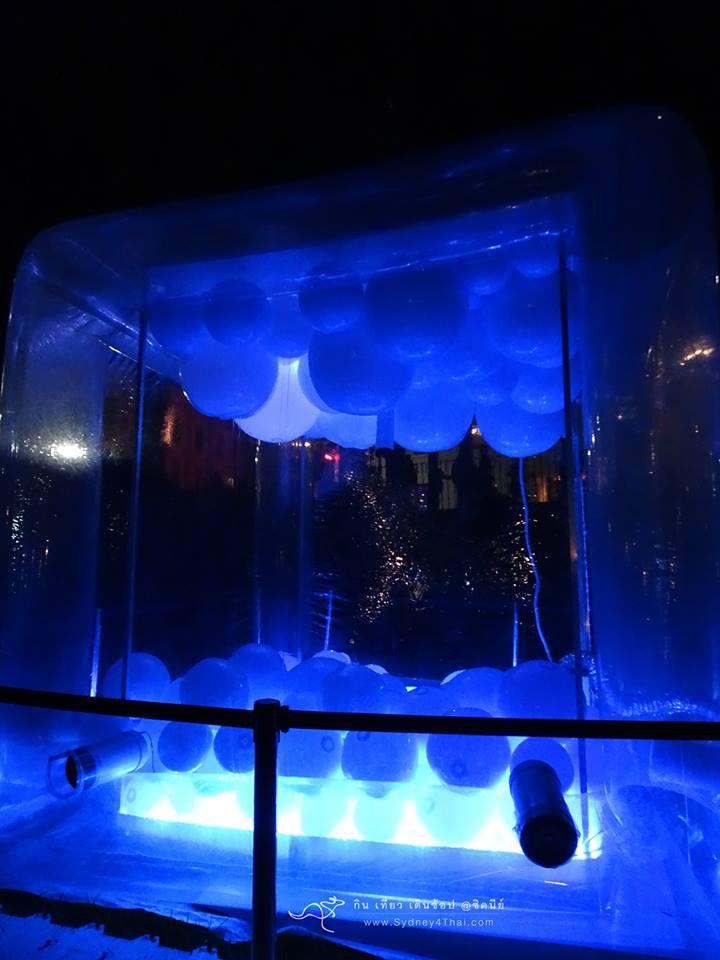 Sydney Vivid Art Sound Bubble