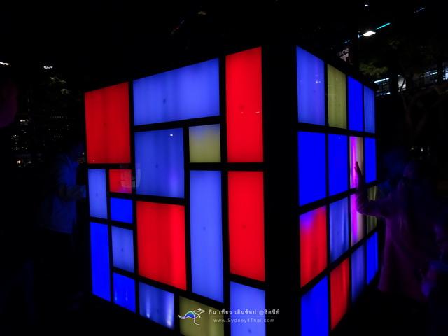 Sydney Vivid box light