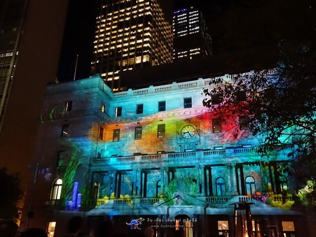 Sydney Vivid Light Circular Quay