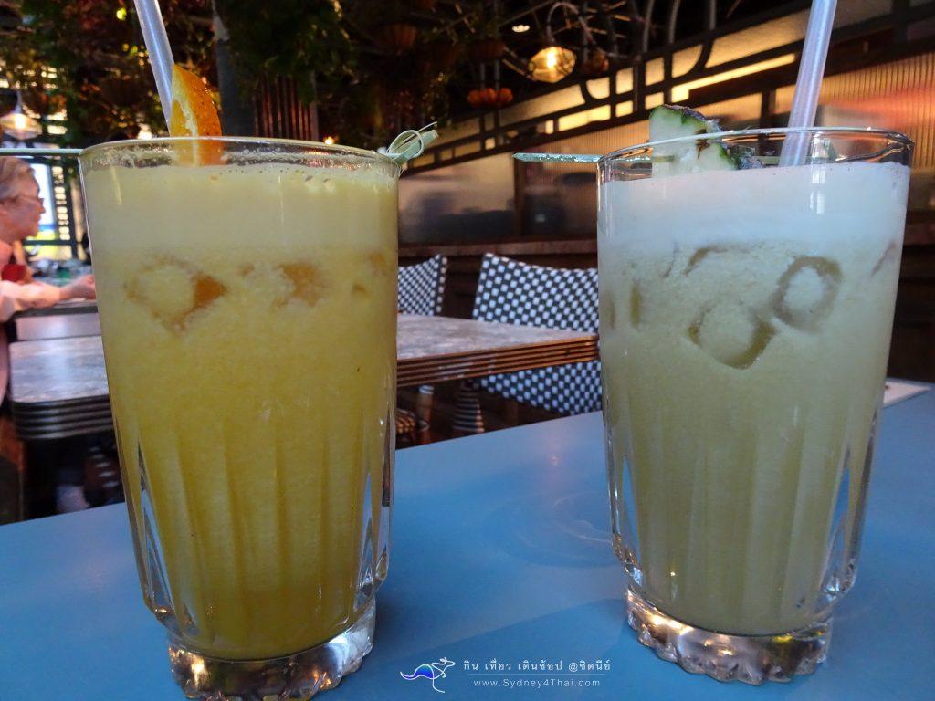 Flower Child Cafe Fruit Drink by sydney4thai