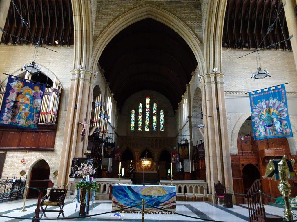 เที่ยว Newcastle Christ Church Cathedral 003