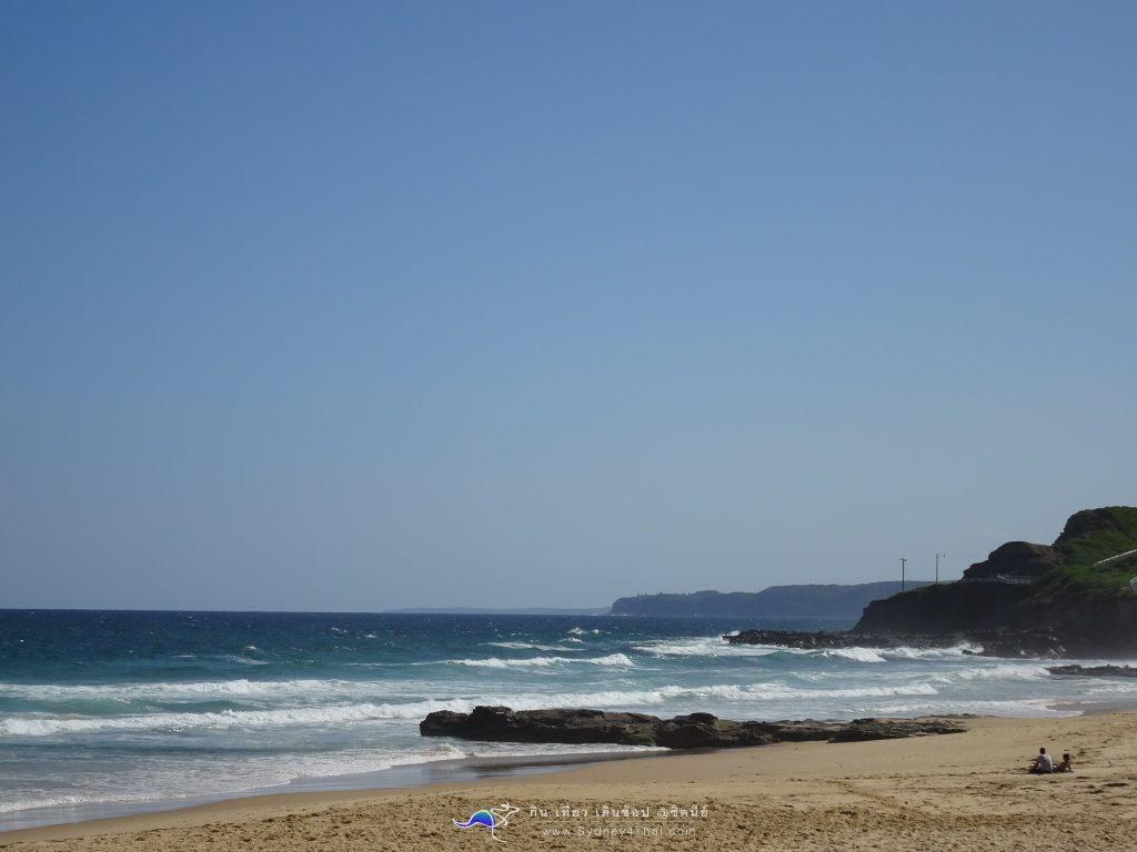 ทะเล เที่ยว Newcastle Beach