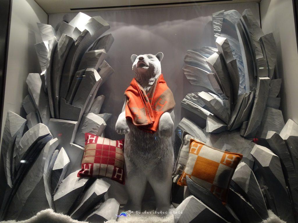 เที่ยว ซิดนีย์ ออสเตรเลีย ชม Christmas Light ที่ Hermès