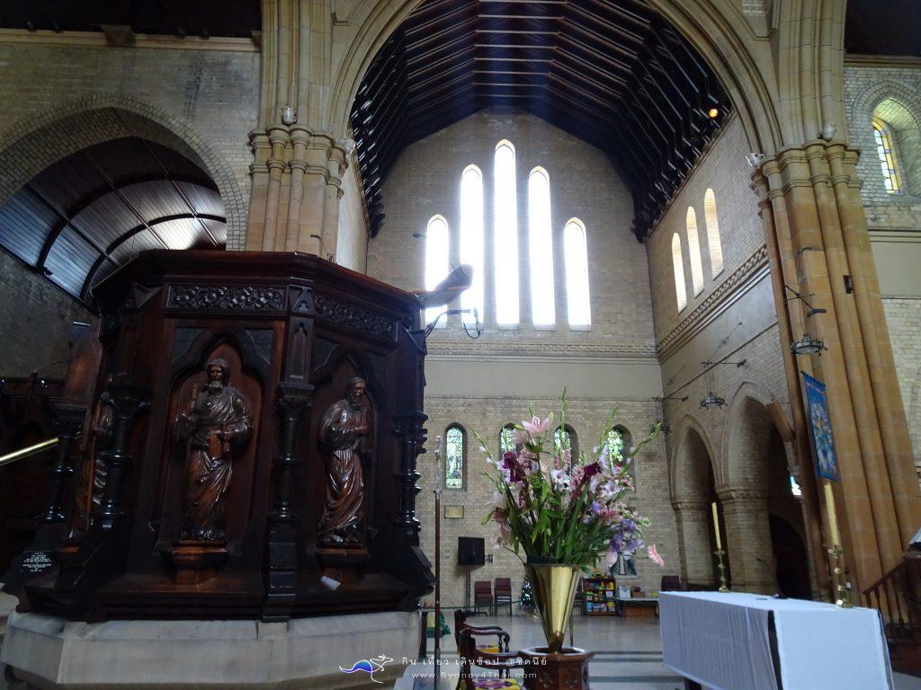 เที่ยว Newcastle Christ Church Cathedral 005