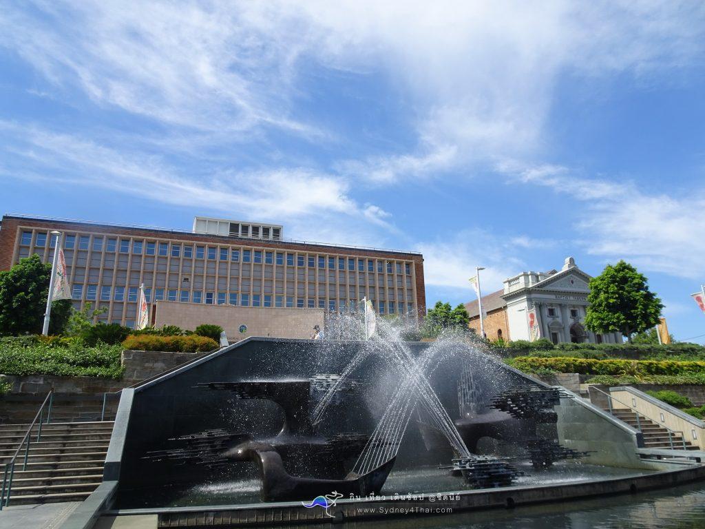 เที่ยว Newcastle Captain Cook Memorial Fountain