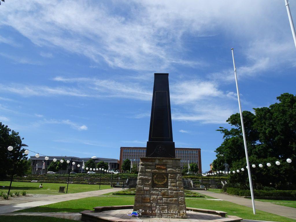 เที่ยว Newcastle war memorial