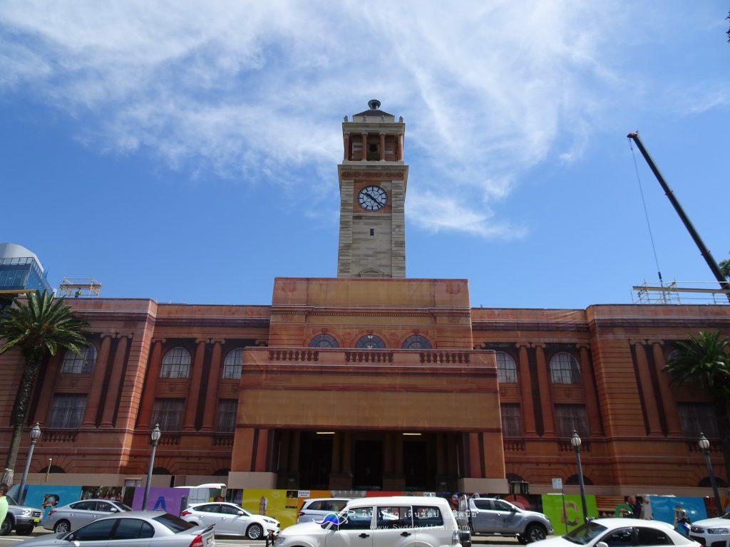 เที่ยว Newcastle City Hall