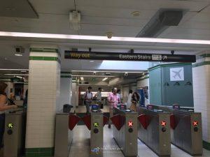 รถไฟ ทางออก-เข้า ระบบขนส่ง สาธารณะ ซิดนีย์