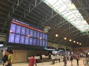 รถไฟ central station Sydney ระบบขนส่ง สาธารณะ ซิดนีย์