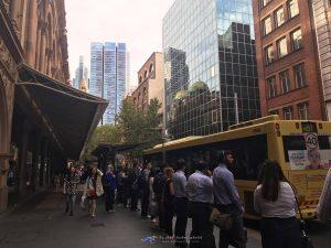Sydney Bus Stop ระบบขนส่ง สาธารณะ ซิดนีย์