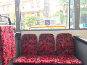 Bus Seats ระบบขนส่ง สาธารณะ ซิดนีย์