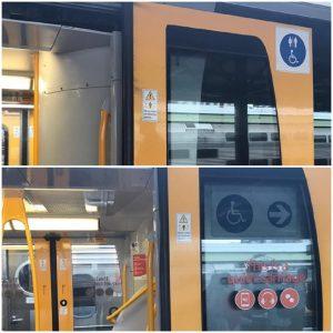 ป้าย รถไฟ Sydney ระบบขนส่ง สาธารณะ ซิดนีย์