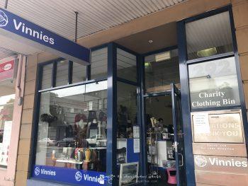 Shopping ได้บุญที่ Vinnies Shops ของมือสอง ช้อปปิ้งในซิดนีย์