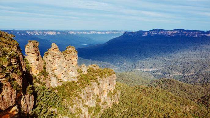 Blue Mountains National Park สนุกเที่ยวซิดนีย์ ไปกับ 20 สุดยอดสถานที่ท่องเที่ยวฟรี ออสเตรเลีย