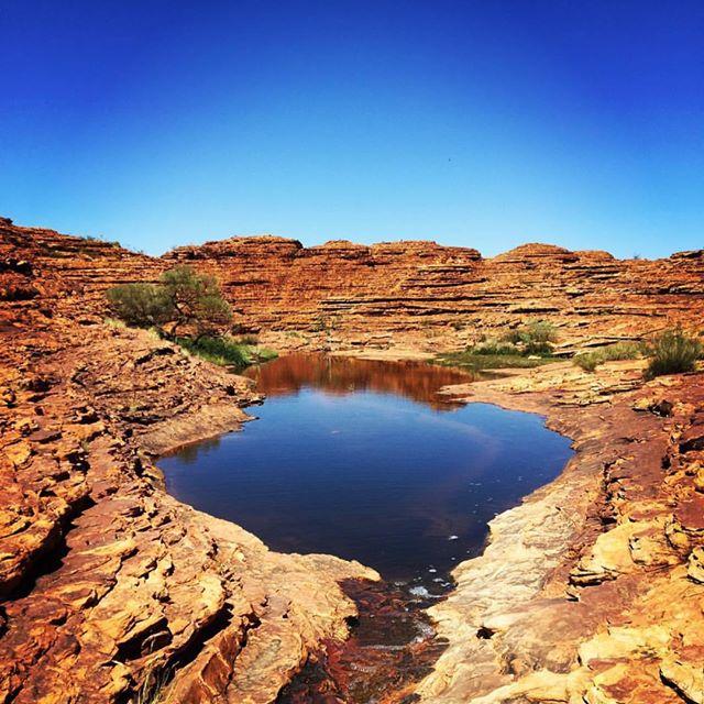 สถานที่ท่องเที่ยวในออสเตรเลียKing's Canyon