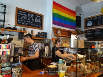ร้านของหวาน ซิดนีย์ น่ารัก อร่อย เก๋ไก BlackStar Pastry
