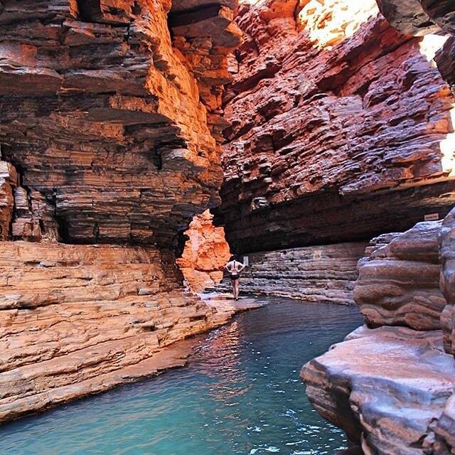 Travel Australia สถานที่ท่องเที่ยวในออสเตรเลียKarijini National Park