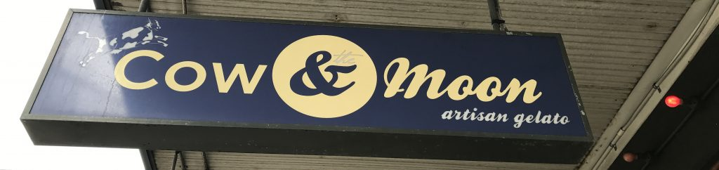 ร้านของหวานในซิดนีย์ ร้าน Cow & Moon ร้านไอศครีมเจลาโต้