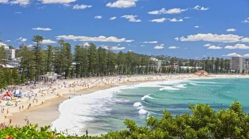 Manly Beach สนุกเที่ยวซิดนีย์ ไปกับ 20 สุดยอดสถานที่ท่องเที่ยวฟรี ออสเตรเลีย