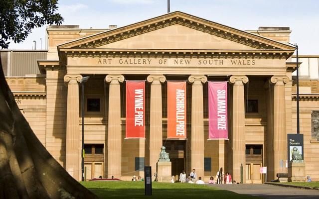 Art Gallery Of NSW SYDNEY 20 สุดยอดสถานที่ท่องเที่ยวฟรี ออสเตรเลีย