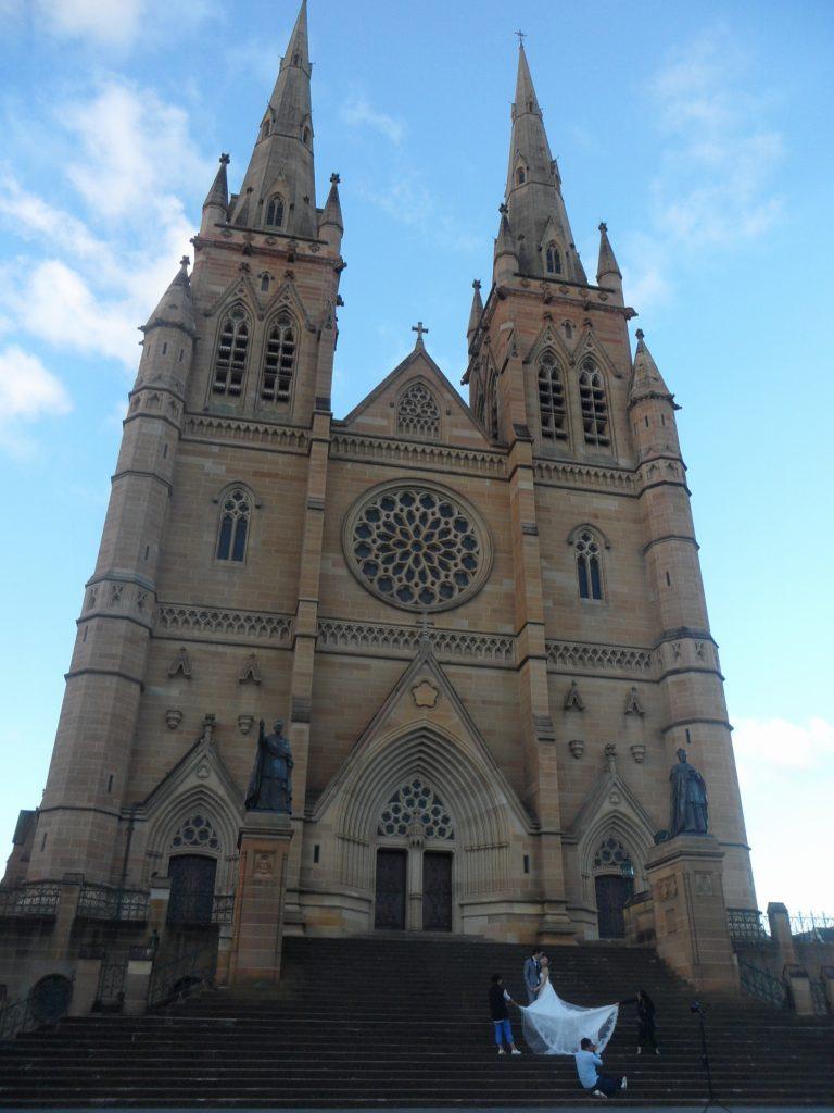 Mary's Cathedral สนุกเที่ยวซิดนีย์ ไปกับ 20 สุดยอดสถานที่ท่องเที่ยวฟรี ออสเตรเลีย