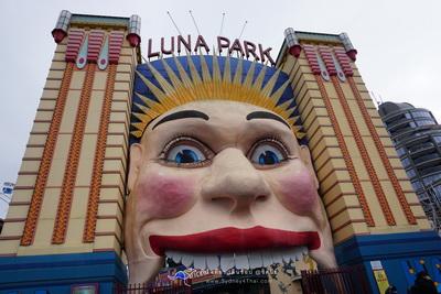 ตะลุย Luna Park เที่ยวสวนสนุก Landmark ของซิดนีย์ 008