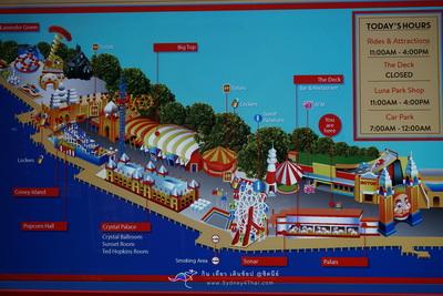 ตะลุย Luna Park เที่ยวสวนสนุก Landmark ของซิดนีย์ 004