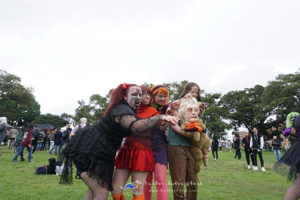 พาเหรดฮาโลวีน Zombie Walk Sydney 2017
