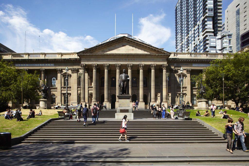 เที่ยวห้องสมุดรัฐวิคตอเรีย (The State Library of Victoria )