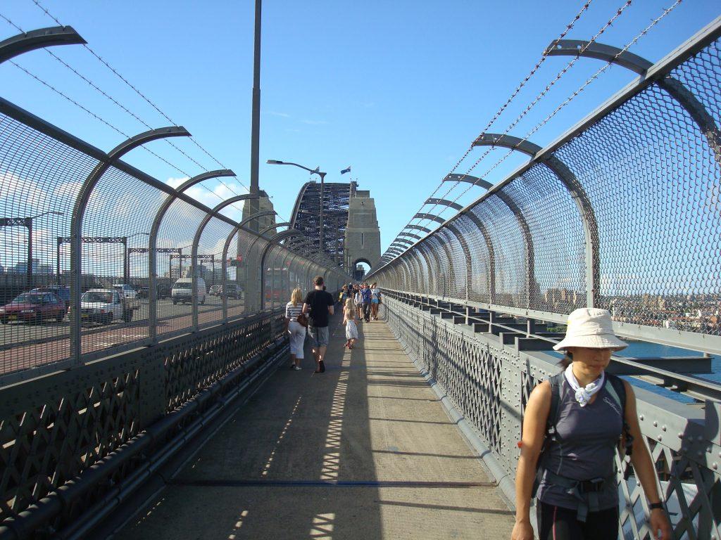เที่ยว Pylon Lookout จุดชมวิวในซิดนีย์ สะพาน Harbour Bridge 003