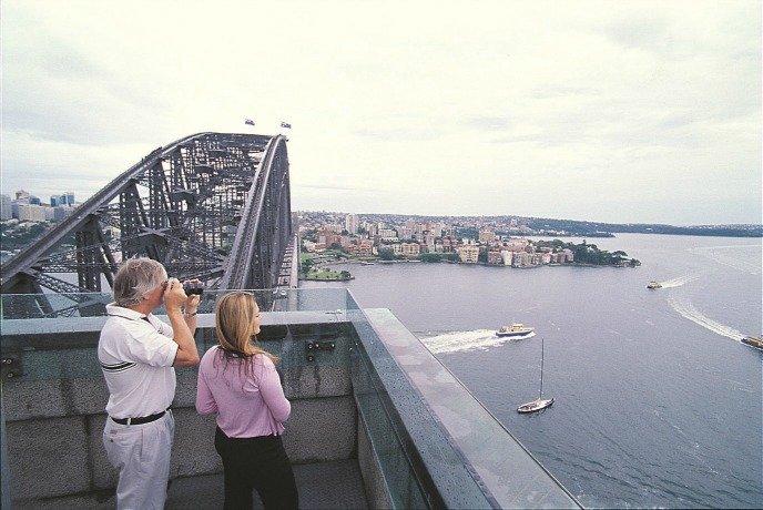 เที่ยว Pylon Lookout จุดชมวิวในซิดนีย์ สะพาน Harbour Bridge 001
