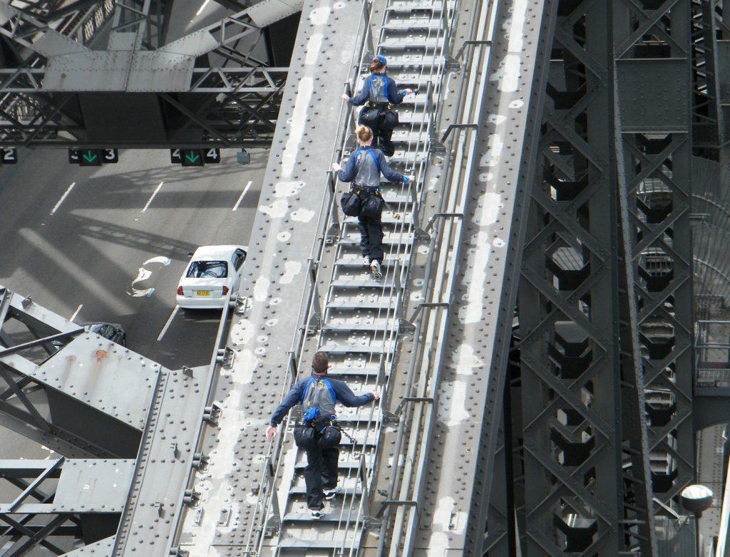 เที่ยว Pylon Lookout จุดชมวิวในซิดนีย์ สะพาน Harbour Bridge 006