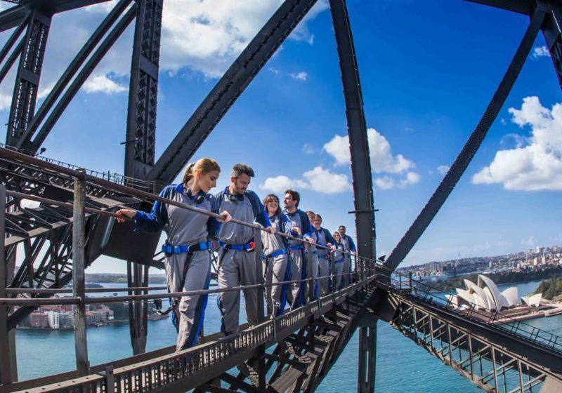 เที่ยว Pylon Lookout จุดชมวิวในซิดนีย์ สะพาน Harbour Bridge