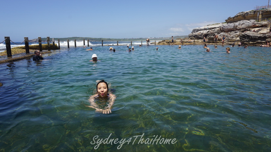 Sydney เที่ยวหน้าเดือนมกราคมที่ไหนดี Ocean Pool