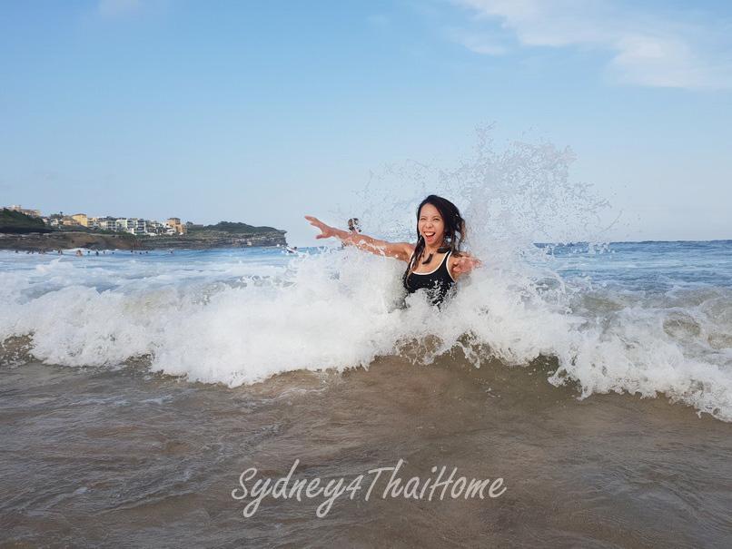 เที่ยวออสเตรเลีย เที่ยว Sydney Bronte Beach แวะชมวิว Ocean pool
