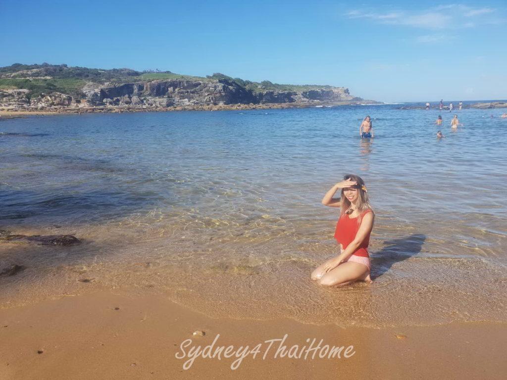 เที่ยวซิดนีย์ ทะเลซิดนีย์ Malabar และ เล่นน้ำที่หาด Little Bay Beach
