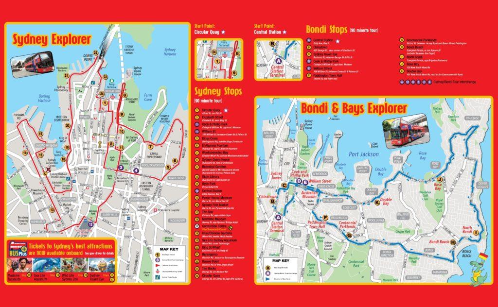 แผนที่ - ซิดนีย์ Map Sydney รวบ 12 Maps ที่คุณนักเดินทางต้องรู้ไว้